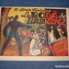 Tebeos: EL JINETE FANTASMA 20: LA BODA DE LUPITA GÓMEZ, 1947, ORIGINAL, GRAFIDEA. Lote 129134663