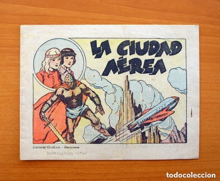 MONOGRÁFICOS GRAFIDEA - LA CIUDAD AÉREA - GRAFIDEA 1940 (Tebeos y Comics - Grafidea - Otros)