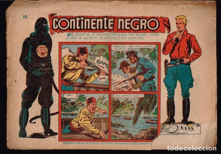 REAL POLICIA MONTADA DEL CANADA.NOVENA AVENTURA.Nº-13 CONTINENTE NEGRO. CHISPITA.GRAFIDEA 1954 (Tebeos y Comics - Grafidea - Chispita)