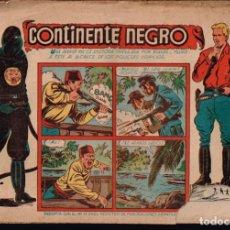 Tebeos: REAL POLICIA MONTADA DEL CANADA.NOVENA AVENTURA.Nº-13 CONTINENTE NEGRO. CHISPITA.GRAFIDEA 1954. Lote 132225490