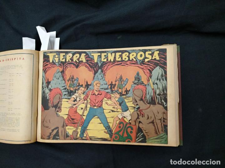 Tebeos: COLECCION COMPLETA - CHISPITA CUARTA AVENTURA - 48 EJEMPLARES EN UN TOMO ENCUADERNADO - GRAFIDEA - - Foto 29 - 132718814