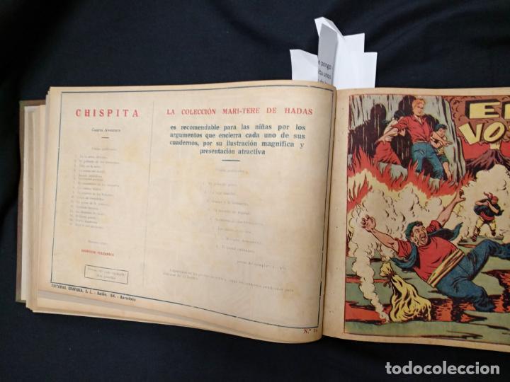 Tebeos: COLECCION COMPLETA - CHISPITA CUARTA AVENTURA - 48 EJEMPLARES EN UN TOMO ENCUADERNADO - GRAFIDEA - - Foto 32 - 132718814