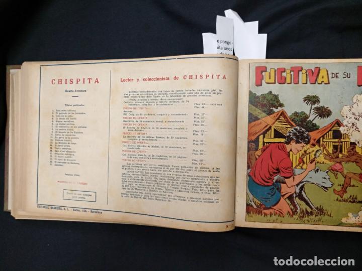 Tebeos: COLECCION COMPLETA - CHISPITA CUARTA AVENTURA - 48 EJEMPLARES EN UN TOMO ENCUADERNADO - GRAFIDEA - - Foto 38 - 132718814