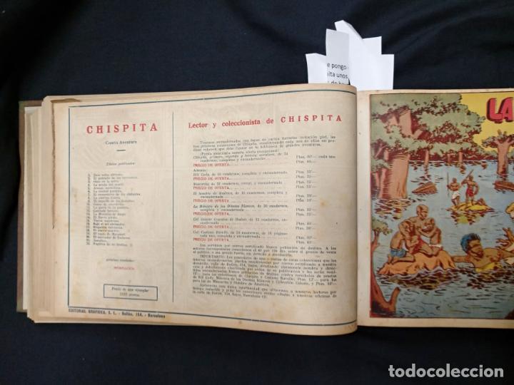 Tebeos: COLECCION COMPLETA - CHISPITA CUARTA AVENTURA - 48 EJEMPLARES EN UN TOMO ENCUADERNADO - GRAFIDEA - - Foto 40 - 132718814