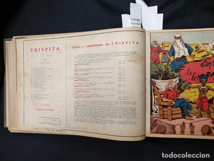 Tebeos: COLECCION COMPLETA - CHISPITA CUARTA AVENTURA - 48 EJEMPLARES EN UN TOMO ENCUADERNADO - GRAFIDEA - - Foto 42 - 132718814