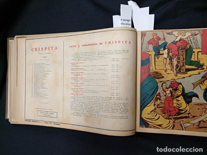Tebeos: COLECCION COMPLETA - CHISPITA CUARTA AVENTURA - 48 EJEMPLARES EN UN TOMO ENCUADERNADO - GRAFIDEA - - Foto 47 - 132718814