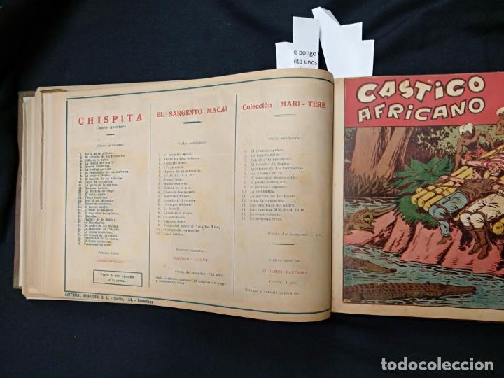 Tebeos: COLECCION COMPLETA - CHISPITA CUARTA AVENTURA - 48 EJEMPLARES EN UN TOMO ENCUADERNADO - GRAFIDEA - - Foto 52 - 132718814