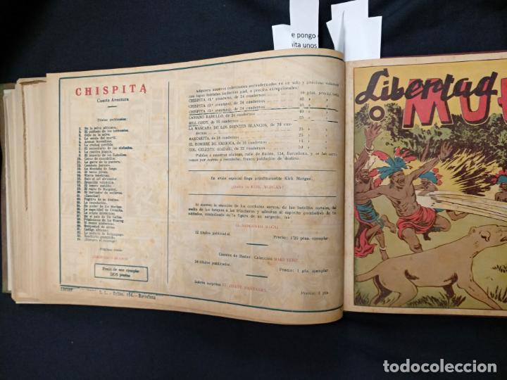 Tebeos: COLECCION COMPLETA - CHISPITA CUARTA AVENTURA - 48 EJEMPLARES EN UN TOMO ENCUADERNADO - GRAFIDEA - - Foto 64 - 132718814