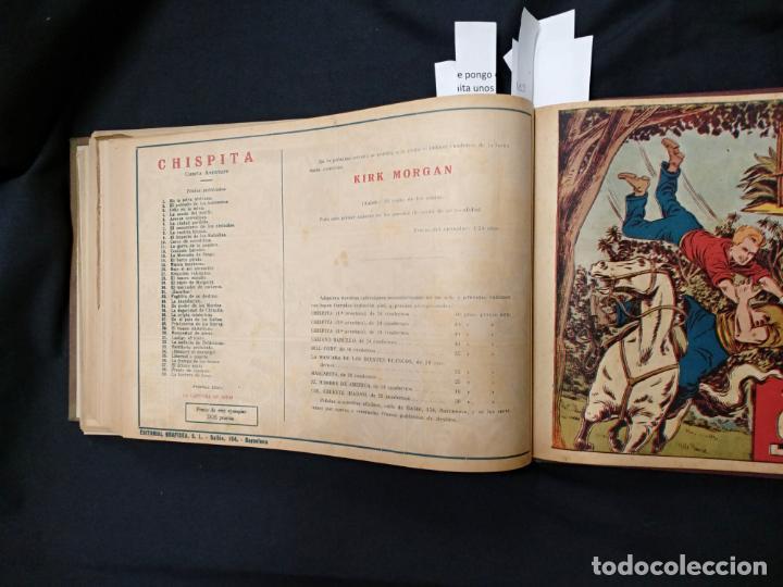 Tebeos: COLECCION COMPLETA - CHISPITA CUARTA AVENTURA - 48 EJEMPLARES EN UN TOMO ENCUADERNADO - GRAFIDEA - - Foto 73 - 132718814