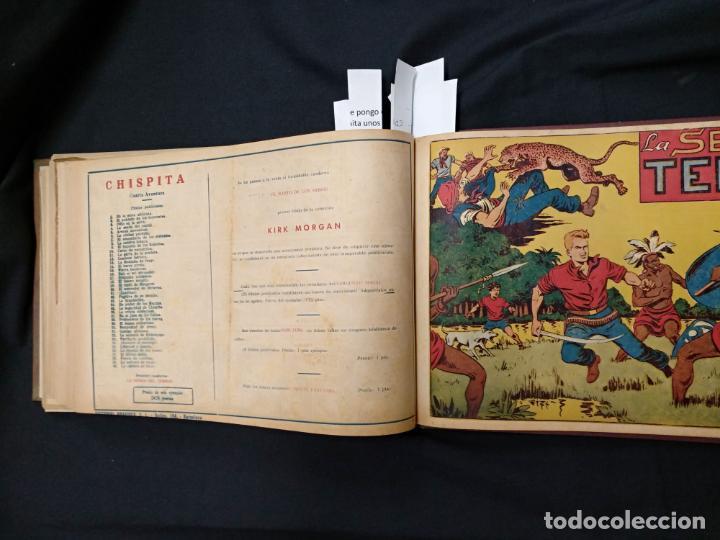 Tebeos: COLECCION COMPLETA - CHISPITA CUARTA AVENTURA - 48 EJEMPLARES EN UN TOMO ENCUADERNADO - GRAFIDEA - - Foto 75 - 132718814