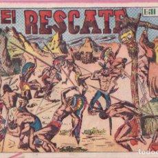 Tebeos: BILL CODY Nº 5 ORIGINAL, GRAFIDEA 1951. Lote 133585622
