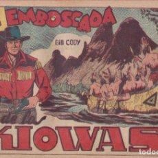 Tebeos: BILL CODY Nº 15 ORIGINAL, GRAFIDEA, 1951. Lote 133678362