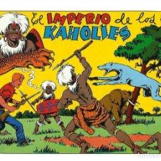 Tebeos: CHISPITA 4ª AVENTURA --REEDICION----NUMERO 9 ( EL IMPERIO DE LOS KAHOLIES ). Lote 135149214