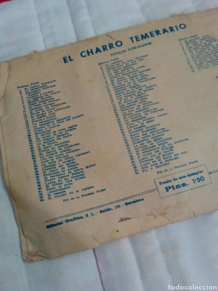 Tebeos: Comic antiguo el charro temerario - Foto 2 - 135593579