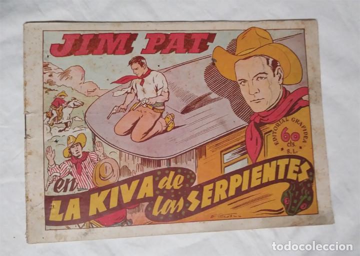 JIM PAT LA KIVA DE LAS SERPIENTES EDITORIAL GRAFIDEA 1940 (Tebeos y Comics - Grafidea - Otros)