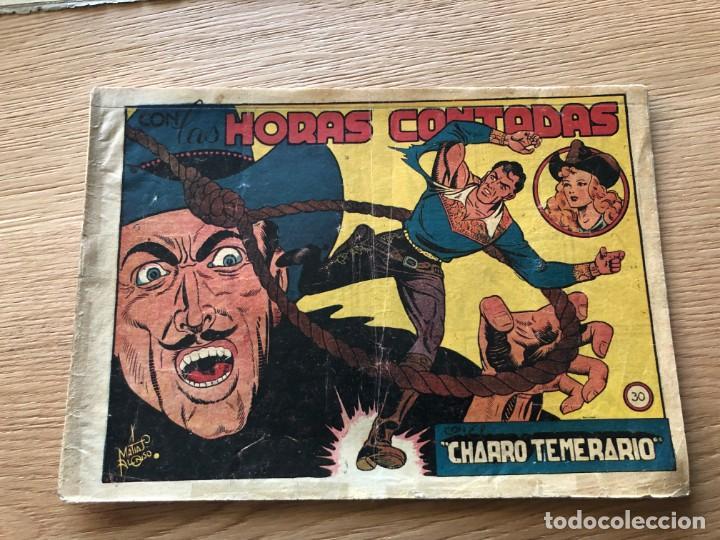 Nº 30 EL CHARRO TEMERARIO, HORAS CONTADAS, ED GRAFIDEA 1953,CAJA/02 (Tebeos y Comics - Grafidea - El Charro Temerario)