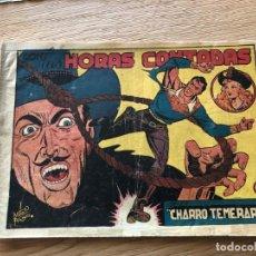 Tebeos: Nº 30 EL CHARRO TEMERARIO, HORAS CONTADAS, ED GRAFIDEA 1953,CAJA/02. Lote 142065574