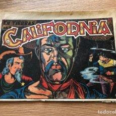 Tebeos: Nº 28, EL CHARRO TEMERARIO, EN TIERRAS DE CALIFORNIA, ED GRAFIDEA 1953, CAJA/02. Lote 142065718