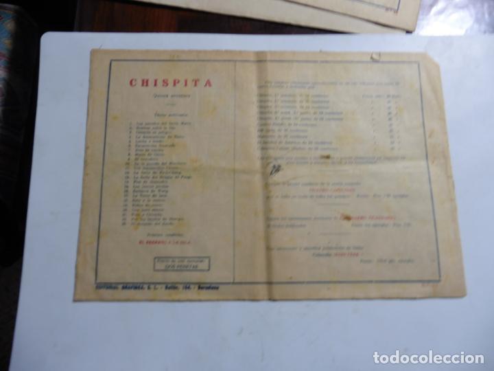 Tebeos: CHISPITA QUINTA AVENTURA Nº 23 ORIGINAL - Foto 2 - 143813626