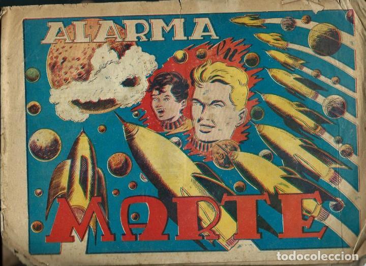 ALARMA EN MARTE - GRAFIDEA 1955 - COL. CHISPITA SEPTIMA AVENTURA Nº 6 - ORIGINAL - VER DESCRIPCION (Tebeos y Comics - Grafidea - Chispita)