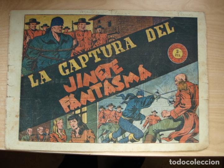 LA CAPTURA DEL JINETE FANTASMA - ORIGINAL - GRAFIDEA (Tebeos y Comics - Grafidea - El Jinete Fantasma)