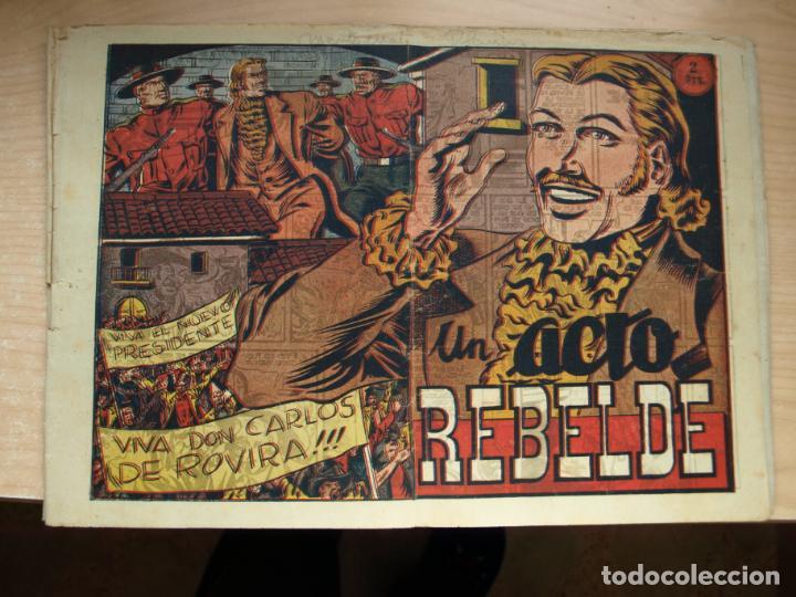 UN ACTO REBELDE - ORIGINAL - GRAFIDEA (Tebeos y Comics - Grafidea - El Jinete Fantasma)