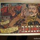 Tebeos: UN ACTO REBELDE - ORIGINAL - GRAFIDEA. Lote 144787430