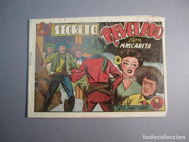 MASCARITA (1949, GRAFIDEA) 24 · 1949 · EL SECRETO REVELADO (Tebeos y Comics - Grafidea - Otros)