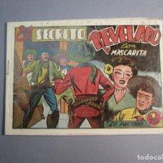 Tebeos: MASCARITA (1949, GRAFIDEA) 24 · 1949 · EL SECRETO REVELADO. Lote 145871406