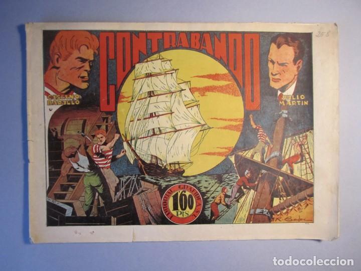 CASIANO BARULLO (1944, GRAFIDEA) 21 · 1944 · CONTRABANDO (Tebeos y Comics - Grafidea - Otros)