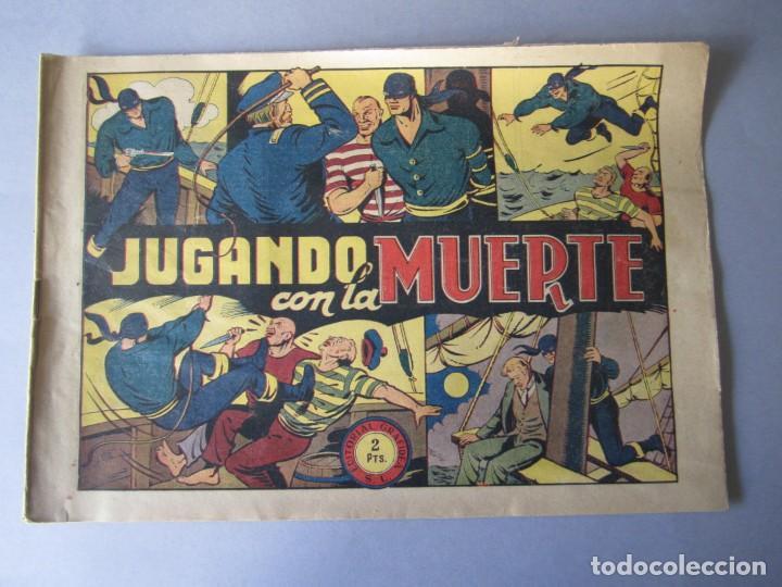 JINETE FANTASMA, EL (1947, GRAFIDEA) -EL CABALLERO FANTASMA- 81 · 1947 · JUGANDO CON LA MUERTE (Tebeos y Comics - Grafidea - El Jinete Fantasma)