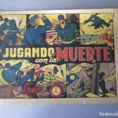 Tebeos: JINETE FANTASMA, EL (1947, GRAFIDEA) -EL CABALLERO FANTASMA- 81 · 1947 · JUGANDO CON LA MUERTE. Lote 146393418