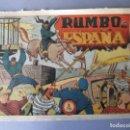 Tebeos: JINETE FANTASMA, EL (1947, GRAFIDEA) -EL CABALLERO FANTASMA- 79 · 1947 · RUMBO A ESPAÑA. Lote 146393754