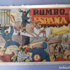 Tebeos - JINETE FANTASMA, EL (1947, GRAFIDEA) -EL CABALLERO FANTASMA- 79 · 1947 · RUMBO A ESPAÑA - 146393754