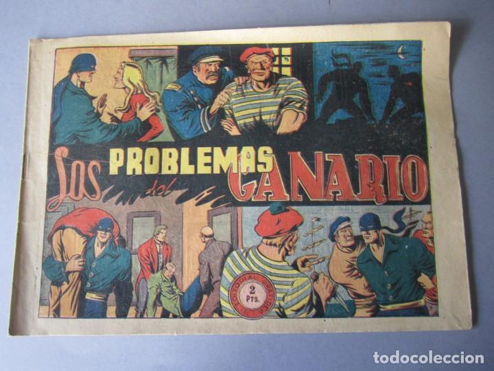JINETE FANTASMA, EL (1947, GRAFIDEA) -EL CABALLERO FANTASMA- 78 · 1947 · LOS PROBLEMAS DEL CANARIO (Tebeos y Comics - Grafidea - El Jinete Fantasma)