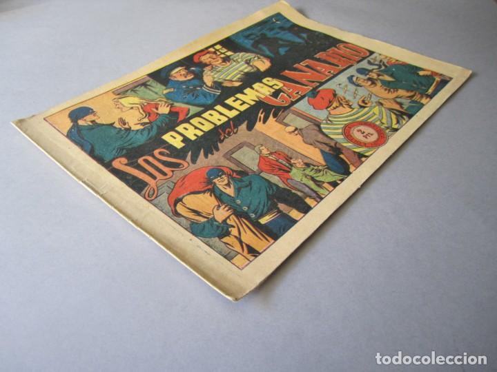 Tebeos: JINETE FANTASMA, EL (1947, GRAFIDEA) -EL CABALLERO FANTASMA- 78 · 1947 · LOS PROBLEMAS DEL CANARIO - Foto 3 - 146396574