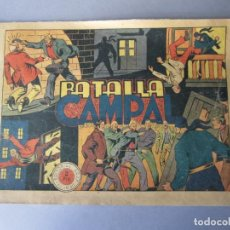 Tebeos: JINETE FANTASMA, EL (1947, GRAFIDEA) -EL CABALLERO FANTASMA- 77 · 1947 · BATALLA CAMPAL. Lote 146397018