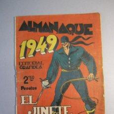 Tebeos: JINETE FANTASMA, EL (1947, GRAFIDEA) -EL CABALLERO FANTASMA- EXTRA 2 · 1948 · ALMANAQUE 1949. Lote 146763010