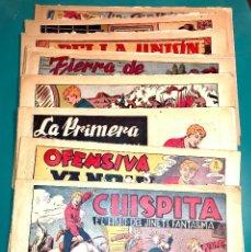 Giornalini: PRIMEROS 14 NÚMEROS DE CHISPITA (1) EL HIJO DEL JINETE FANTASMA, ORIGINAL DE LA ÉPOCA,EDIT GRAFIDEA. Lote 147088370