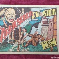 Tebeos: TEBEO LA MANO QUE APRIETA Nº 8 EVASION ARRIESGADA- 1PTA- TEBEO ORIGINAL. Lote 147145562