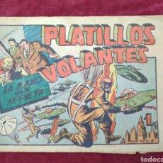 Tebeos: TEBEO LA MANO QUE APRIETA Nº 9 PLATILLOS VOLANTES - 1PTA- TEBEO ORIGINAL. Lote 147146854