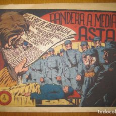 Tebeos: EL JINETE FANTASMA Nº 107. BANDERA A MEDIA ASTA. EDITORIAL GRAFIDEA. ORIGINAL.. Lote 147290026