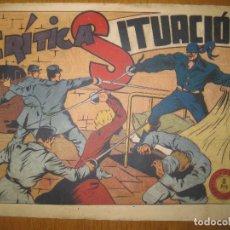 Tebeos: EL JINETE FANTASMA Nº 106.CRITICA SITUACION. EDITORIAL GRAFIDEA. ORIGINAL.. Lote 147290242