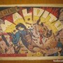 Tebeos: EL JINETE FANTASMA Nº 105. EL PUENTE MALDITO. EDITORIAL GRAFIDEA. ORIGINAL.. Lote 147290470
