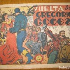 Tebeos: EL JINETE FANTASMA Nº 98. LA VUELTA DE GREGORIO GOMEZ. EDITORIAL GRAFIDEA. ORIGINAL.. Lote 147291014