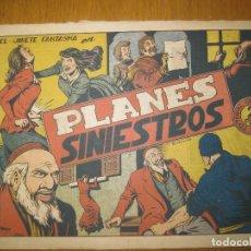 Tebeos: EL JINETE FANTASMA Nº 96. PLANES SINIESTROS. EDITORIAL GRAFIDEA. ORIGINAL.. Lote 147291142