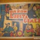Tebeos: EL JINETE FANTASMA Nº 84. LA RAZON DE LUPITA GOMEZ. EDITORIAL GRAFIDEA. ORIGINAL.. Lote 147292534