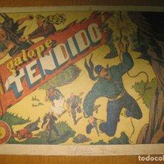 Tebeos: EL JINETE FANTASMA Nº 72. GALOPE TENDIDO. EDITORIAL GRAFIDEA. ORIGINAL.. Lote 147294226