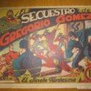 Tebeos: EL JINETE FANTASMA Nº 25. EL SECUESTRO DE GREGORIO GOMEZ. EDITORIAL GRAFIDEA. ORIGINAL.. Lote 147294742