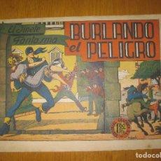 Giornalini: EL JINETE FANTASMA Nº 8. BURLANDO EL PELIGRO. EDITORIAL GRAFIDEA. ORIGINAL.. Lote 147563630